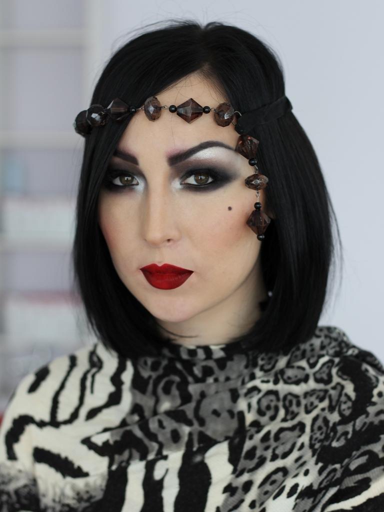 Ретро макияж 20-х